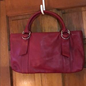 Express design studio red bag NWOT